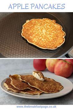 Delicious Apples Pancakes Slimming World Pancakes, Milk And Eggs, Cinnamon Apples, Brunch, Snacks, Cooking, Healthy, Breakfast, Kitchens