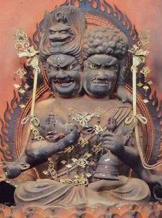 金剛峯寺 両頭愛染明王坐像