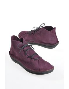 Loints of Holland 'Marit', plum - Loafers - Deerberg