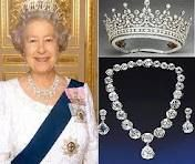 crowns and tiaras of british royals -