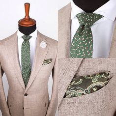 Shirt, tie, pocket square and lapel pin - All available at www.grandfrank.com