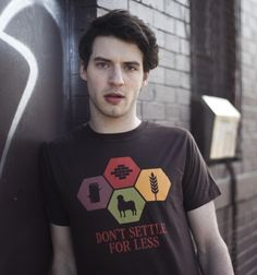 Don't Settle For Less T-Shirt - Settlers of Catan T-Shirt is $10 today at Busted Tees!