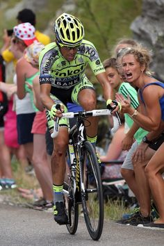 Battered and bruised after a crash, Contador never gave in and fought till the end... Stage17 TDF2015