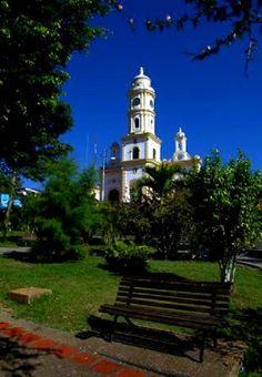 Pueblito de Betijoque, Edo.Trujillo , a lo lejos puedes ver la Iglesia Del Niño Jesús Venezuela