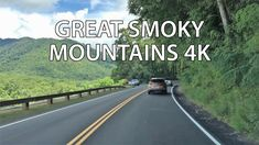 Scenic Drive - Great Smoky Mountains National Park - Tennessee & North Carolina - USA Appalachian Mountains, Appalachian Trail, Blue Ridge Mountains, Great Smoky Mountains, North Carolina Usa, Most Visited National Parks, Gatlinburg Tennessee, 7 Continents, Mountain Vacations