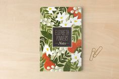 Blossoming Rainforest Day Planner, Notebook, or Address Book by Griffinbell Paper Co. at minted.com