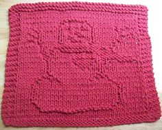 Dishcloth Patterns With | DigKnitty Designs: Snowman With Heart Knit Dishcloth Pattern