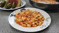 Iahnie de fasole DE POST. O mancare de fasole scazuta savuroasa si satioasa Dog Food Recipes, Shrimp, Canning, Meat, Dog Recipes, Home Canning, Conservation