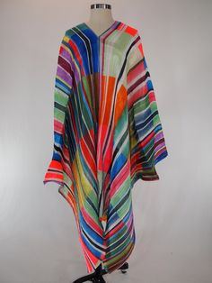 Reserved ISSEY MIYAKE Pleats Please Vintage Psychedelic Cape Poncho by andARCHIVE on Etsy
