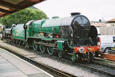 /by Michael Wadman Uk Rail, Train Group, Heritage Railway, Old Steam Train, Trans Siberian Railway, Southern Railways, Steam Railway, Old Trains, British Rail