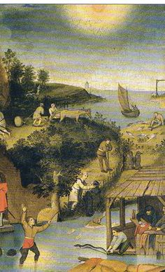 The dutch Proverbs (detail), by Pieter Bruegel de Oude Pieter Bruegel The Elder, Shri Hanuman, European Paintings, Artsy Fartsy, Proverbs, Holland, Dutch, Medieval, World
