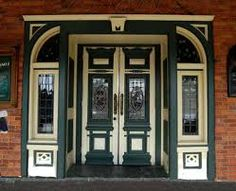 Elaborate double front doors on a Victorian building on Summit Avenue in St. Victorian Buildings, Victorian Homes, Victorian Front Doors, Make A Door, Double Front Doors, Art Deco Buildings, Mansions Homes, House Entrance, Door Knockers