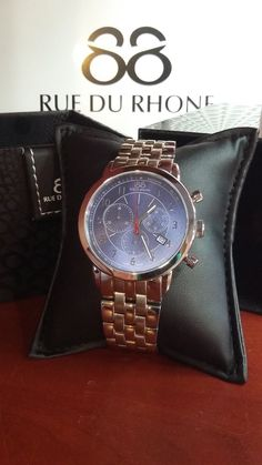 Rue Du Rhone Stainless Steel Watch with Blue Dial $450 plus taxes and shipping (~$10). Delivery within 7 business days.