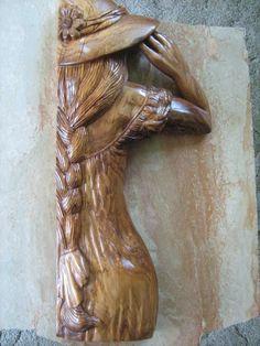 Josh Osborne, Wood Carving Artwork