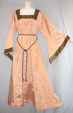 Medieval SCA LARP Moire Dress Gown w/ Bold by MerchantAdventurers1, $60.00