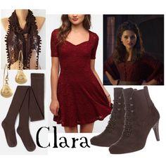 Modern version of Victorian Clara
