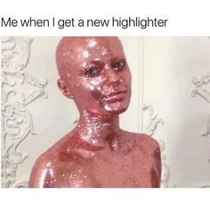There's nothing funnier than makeup quotes and memes we all can relate to. These funny makeup quotes just say everything we go through about makeup! Makeup Quotes Funny, Makeup Humor, Sephora, Hysterically Funny, Highlighter Makeup, Concealer, Makeup Routine, Beauty Quotes, Best Makeup Products