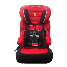 Official Ferrari Rosso Corsa Red Baby Toddler Kids Children Car Safety Seat