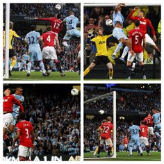 City skipper Kompany scores the decider in a double derby win over United in 2011-12 premier league campaign - did I mention who is credited with the assist: the man in the middle, David Silva!