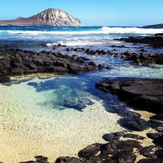 I want to be here now! Kaohikiapu Island off of Kalanianaoe Hwy in Hawaii