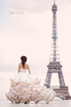 :) Lovely picture. Also this dress is equal parts ridiculous and amazing.