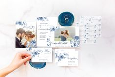 Celebrate your most important milestones with Martha's new Mixbook collections! Martha's wedding suites let you personalize save the dates, invitations, return address labels, and thanks you cards. Order yours today from Mixbook. Wedding Paper, Floral Wedding, Wedding Cards, Wedding Album, Diy Wedding, Wedding Photo Books, Wedding Photos, Unique Invitations, Wedding Invitations
