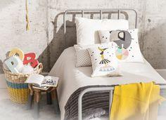 #decoracioninfantil #kidsroom #kidsdecor #cuartodeniños #mostaza #manta #cesta…