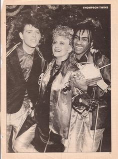 Thompson Twins Thompson Twins, New Wave, Musicals, Waves, History, Artist, Movie Posters, Board, Pictures