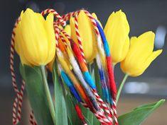 лв2.50 Ръчно изработена мартеница-гривна от цветна вълна.  Не само визията, но и материалите за изработка са напълно естествени, а пъстрите цветове носят послание за здраве, жизненост и хармония. Семплият дизайн я прави подходяща за всеки пол, възраст и стил на обличане. Baba Marta, Joy, Holiday, Color, Vacations, Holidays, Happiness, Colour, Colors