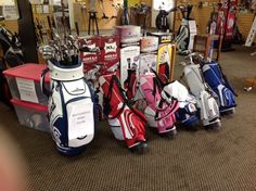Get new clubs or repair your favorites