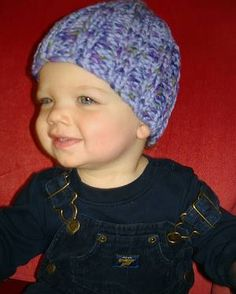 Ribbed Hat For Babies And Children Knitting Pattern