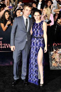 Robert Pattinson & Kristen Stewart --they were such a cute couple!