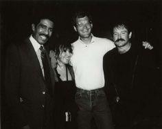 Robin Williams, David Letterman and Richard Pryor