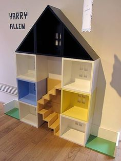 Upstairs Downstairs - Harry Allen: Modern Doll House.