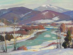 """Northern Vermont"" by Aldro Hibbard"