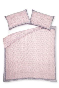Buy Elizabeth Border Cotton Rich Bed Set from the Next UK online shop