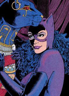 Catwoman jim balent
