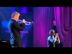"Lara Fabian // Josh Groban and Chris Botti - ""Broken Vow"". (Two videos)"