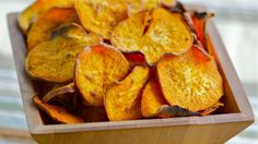 Curried Sweet Potato Chips by Susan Russo, npr #Sweet_Potato #  Susan_Russo #npr