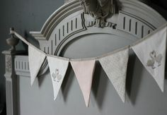 I have a new bunting collection to Millie Door Furniture, Chalk Paint Furniture, Swan Love, Gray Chalk Paint, Annie Sloan Paints, Dark Wax, Handmade Design, Interior Design Inspiration, Soft Furnishings
