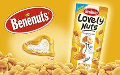Benenuts propose des cacahuètes caramélisées. Prix constaté 1,12 €.