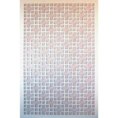 1/4 In. X 32 In. X 4 Ft. White Chinese Style 1 Vinyl Decor Panel