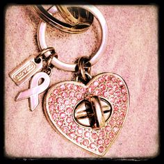 Coach heart keychain. Pink. iPhone. Camera awesome app.