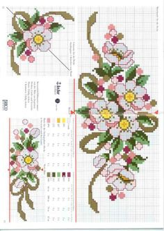 This Pin was discovered by Şen Just Cross Stitch, Simple Cross Stitch, Cross Stitch Borders, Cross Stitch Flowers, Cross Stitch Designs, Cross Stitching, Cross Stitch Embroidery, Cross Stitch Patterns, Christmas Embroidery Patterns
