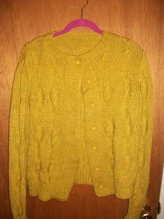 Olive long sleeve knit in GrandmasClutter's Garage Sale in Colorado Springs , CO for $6.00.