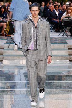 Versace - Look 28 Completo in principe di Galles