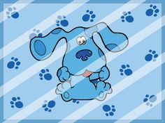 Blues Clues Edible Cake Topper Frosting 1/4 Sheet Image #2