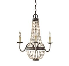 View the Murray Feiss F2755/3 Charlotte 3 Light Single Tier Chandelier at LightingDirect.com. $173.70
