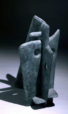 William Turnbull. Horse, Bronze, 1946 ●彡