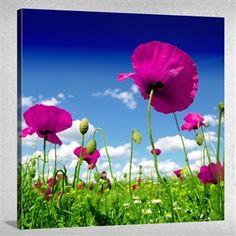 #Çiçekler ve #Manzara Tablo